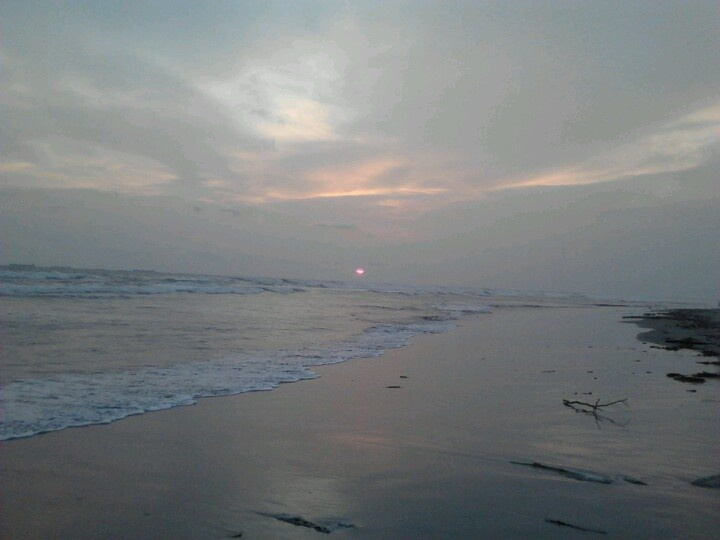 Sunset at pantai panjang