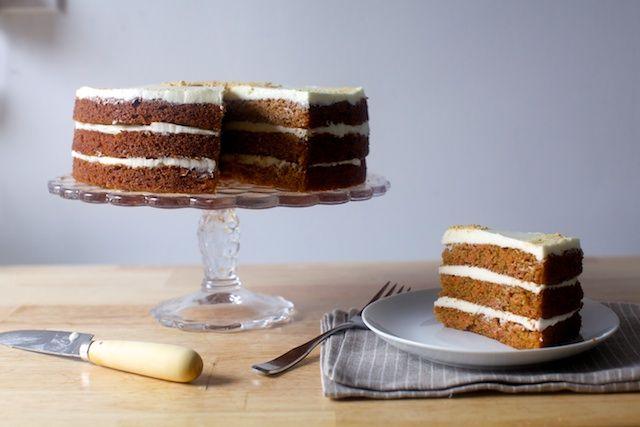 carrot graham layer cake | smittenkitchen.com