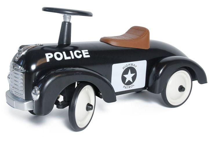 Köp Mini Speeders Gåbil Speedster Polis | Leksaker Gåbilar & Trampfordon | Jollyroom