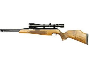 The Air Arms TX200 Hunter Carbine Mk3 Air Rifle is a spring powered Air Arms Air Rifle finished with a beech stock in the Air Arms Air Rifles range.    The Mk3 is the latest versions of the highly popular TX200 air rifles series, seen for some time as the No. 1 general purpose air rifle for field and target use. The HC is a short version of the TX200. This Air Arms air rifle has a bull barrel with a threaded insert, which allows the fitting of an internal moderator insert.