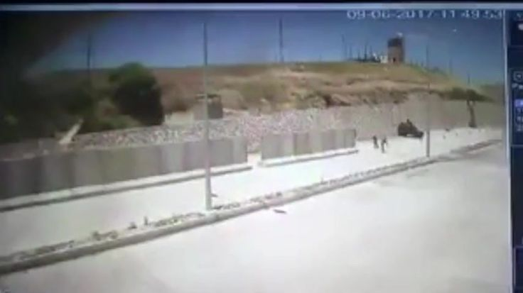 From  Funker530 : 'An apparent suicide attack, reportedly carried out by the HPG (People's Defense Forces) military wing of the Kurdistan Workers' Party (PKK), is captured on CCTV at a gendarmerie