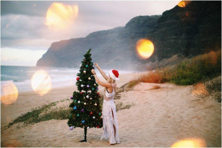 Christmas at the Beach | Kauai, Hawaii