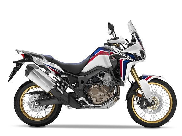 Honda CRF1000L Africa Twin HRC painting and golden rims. Near KTM990 weight and (hope!) suspension. Love it!