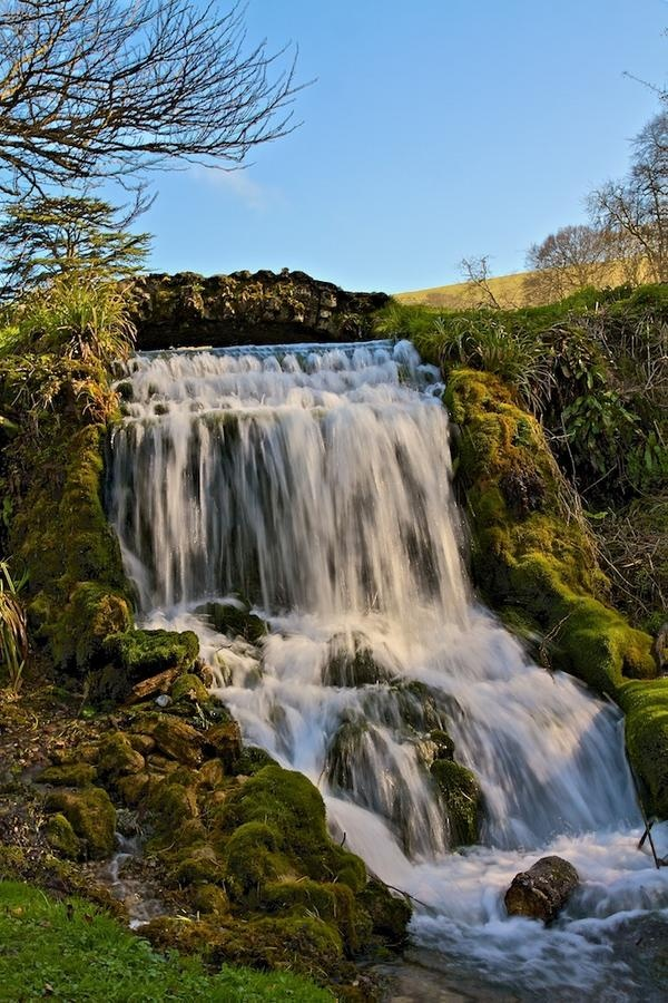 We love the waterfall at Little Bredy in West Dorset