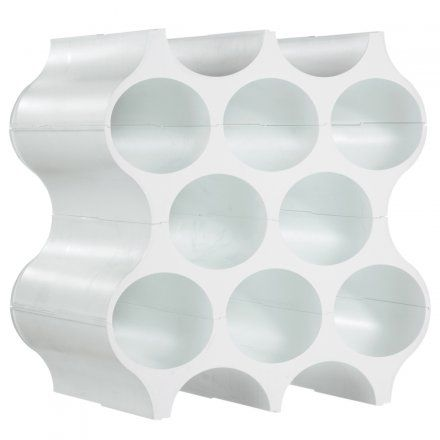 Flaschenregal Set Up solid weiß weiß Kunststoff Jetzt bestellen unter: http://www.woonio.de/produkt/flaschenregal-set-up-solid-weiss-weiss-kunststoff/