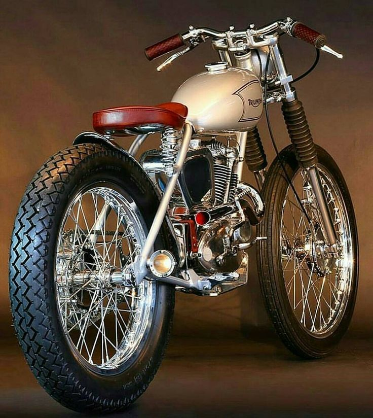 1965 Triumph Tiger Cub Made By Heroes Motorcycles