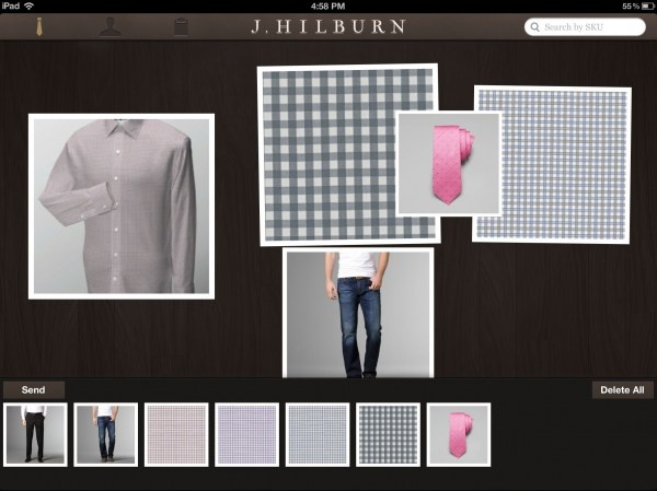 J.Hilburn Launches Style Kit, A Novel iPad Sales App For Its Customers And Sales Force | TechCrunch