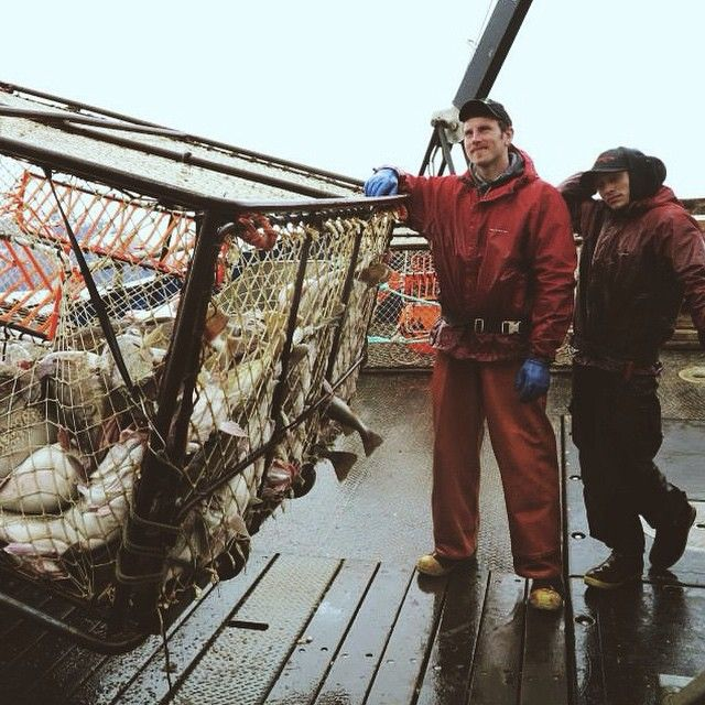 Crabbing in Alaska- Grundens Weather Watch Jacket