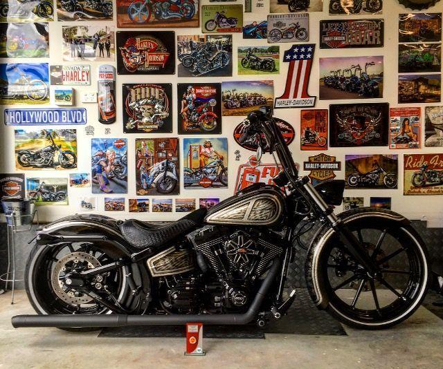 Softail Breakout Vicla Harley Davidson Harley Davidson Baggers Harley Davidson Bikes