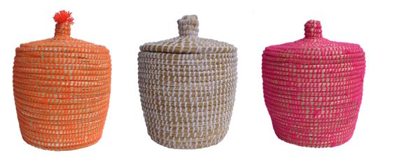 Berber baskets from Morocco, handpicked by kira-cph.com