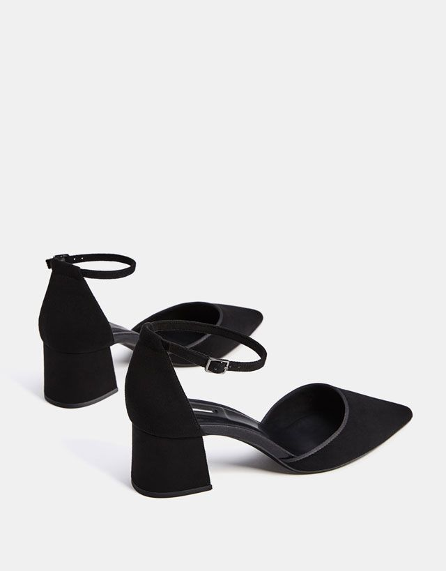 32b6d037c01 Mid-heel shoes with ankle straps in 2019 | Favorite | Mid heel shoes ...