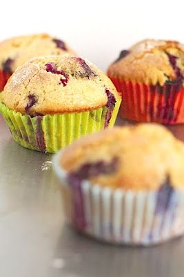 Thermomix Recipes: Thermomix Blueberry Muffins Recipe