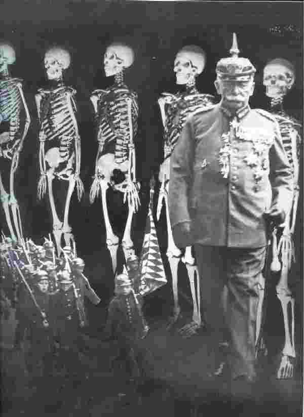 Heartfield, John Heartfield (1891-1968) was a pioneer in photo manipulation. Born Helmut Herzfeld, he changed his name as a protest against anti-English sentiment in Germany between the World Wars.