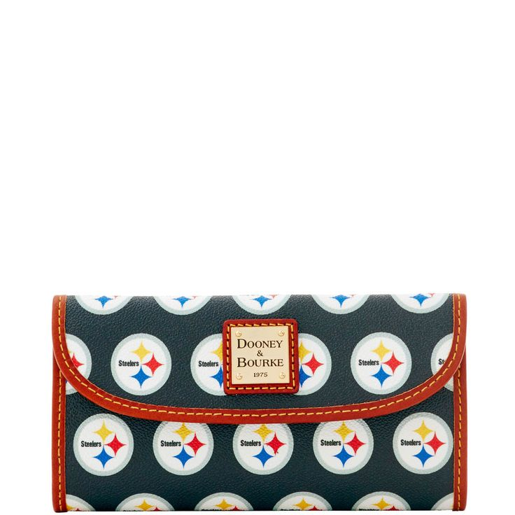 NFL Steelers Continental Clutch