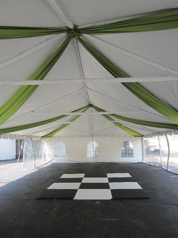 tented events let me wow u gurnee il wedding tent deco pinterest il us and tent - U Shape Canopy Decorating
