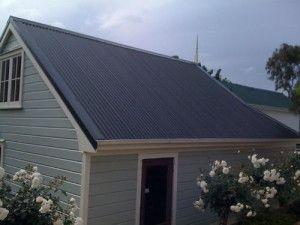 Steel Roof - excellent renovation job!