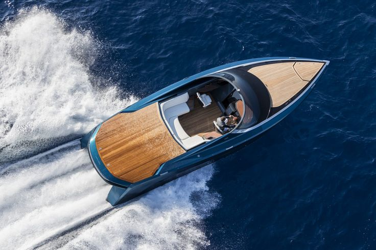 Aston Martin Makes a Splash With Their New Powerboat  http://www.luxurialifestyle.com/aston-martin-makes-a-splash-with-their-new-powerboat/