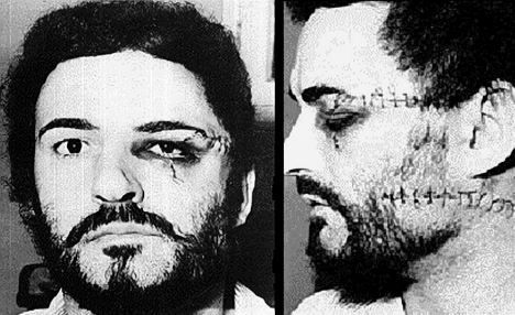 peter sutcliffe the yorkshire ripper hahahahaaaaaa someone gave him what he deserved.