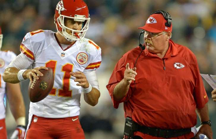 10. Andy Reid and Alex Smith, Kansas City Chiefs  After spending 14 seasons as the head coach of the Philadelphia Eagles, Reid was signed to come to the aid of the waning Kansas City Chiefs in 2013.  The Chiefs' record has since improved immensely with the team having recorded 31 wins and 17 losses, leading to three postseason games in Reid's three years.  Smith also joined Kansas City in 2013 after losing his starting job to 49ers quarterback Colin Kaepernick the previous year. A change of…