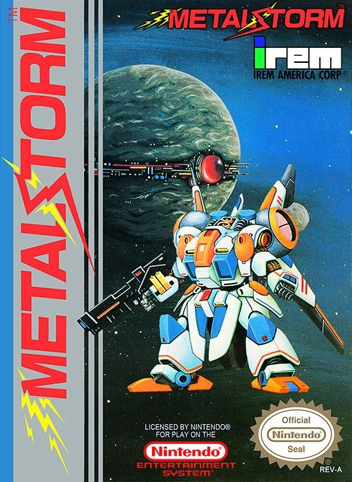 ▷ Play Metal Storm Nintendo NES Online 🥇 [UNBLOCKED