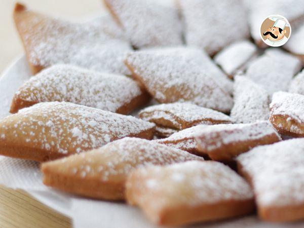 Buñuelos de carnaval franceses - Receta Petitchef