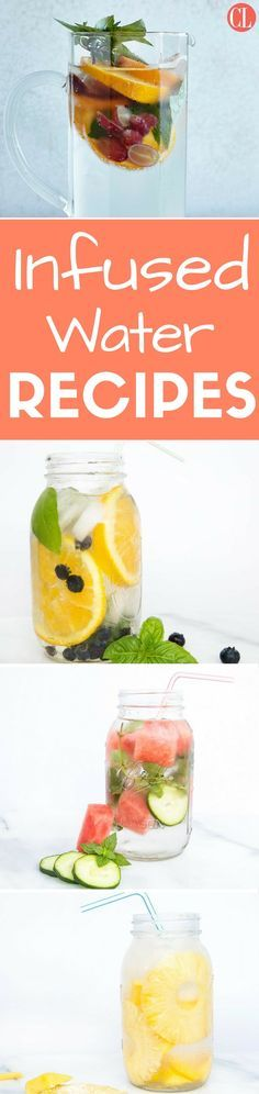 Trade in the juice box and fizzy soda for the ultimate calorie-free sip. With no added sugar and virtually no calories, infused waters are an easy way to increase water intake. They're also a refreshing way to use up leftover fruit you might have on hand from a fruit salad. | Cooking Light