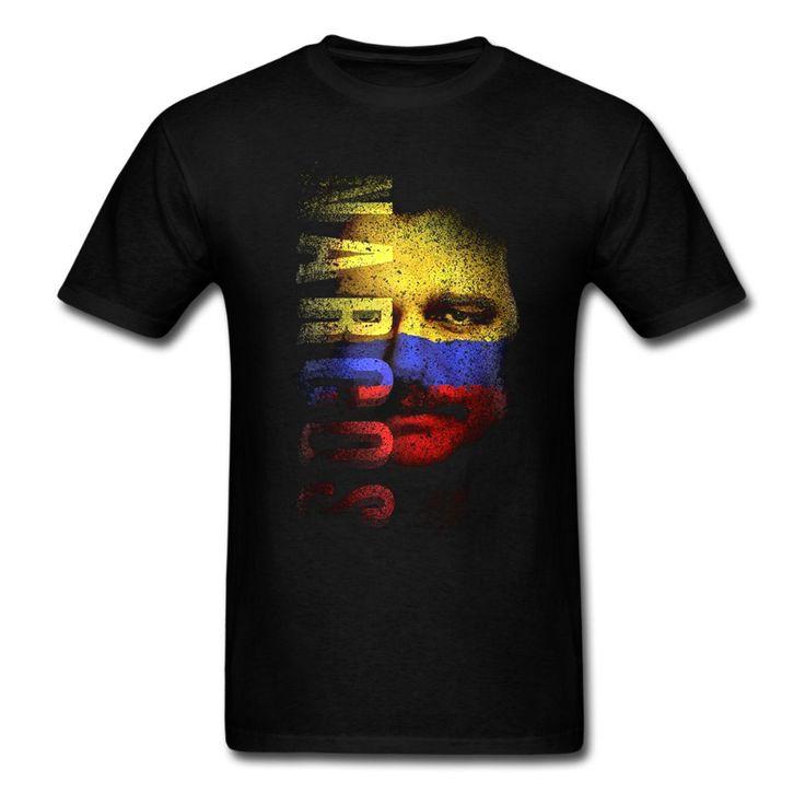 Newest 2017 men's fashion Narcos Flag Face T-Shirt New Merch Tv Series Netflix Pablo Escobar t shirt  men tee Men summer casual