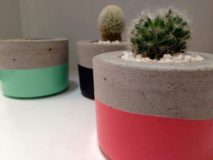 Planters handmade by Amelayna Designs