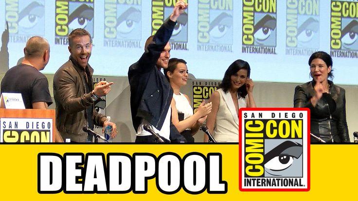 Deadpool Comic Con Panel - Ryan Reynolds, Morena Baccarin, Gina Carano, T.J. Miller, Ed Skrein