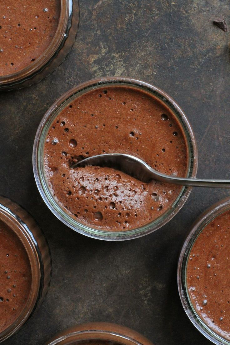 french chocolate mousse.