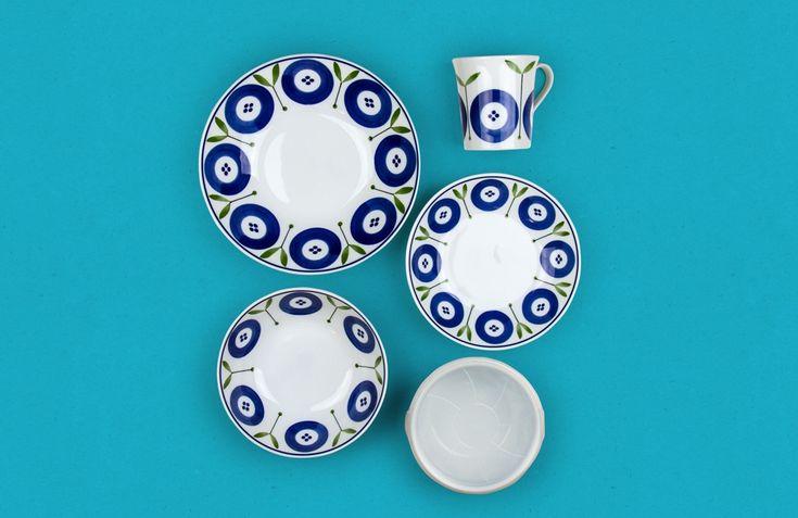 Flora Japanese Tableware Set - Nendo