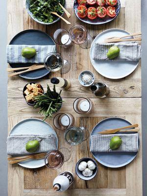 Assiette en céramique pommelée (3 couleurs) House Doctor