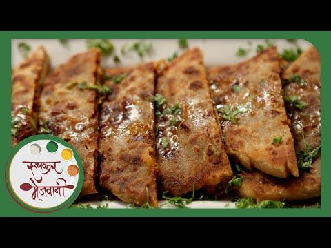Prawns Paratha - Fish Recipe by Archana - Healthy & Quick Indian Breakfa...