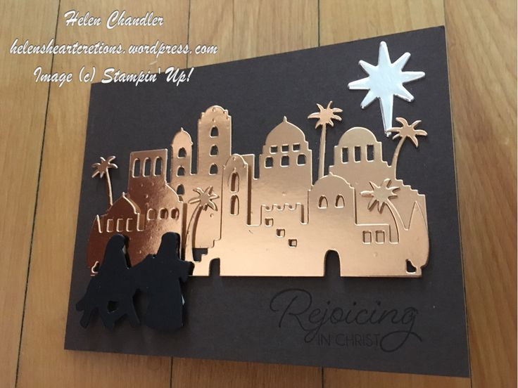 It is far too early for Christmas cards – unless you plan on making your own – then now is a perfect time to be gathering ideas and supplies! Night in Bethlehem is a new bundle from the…