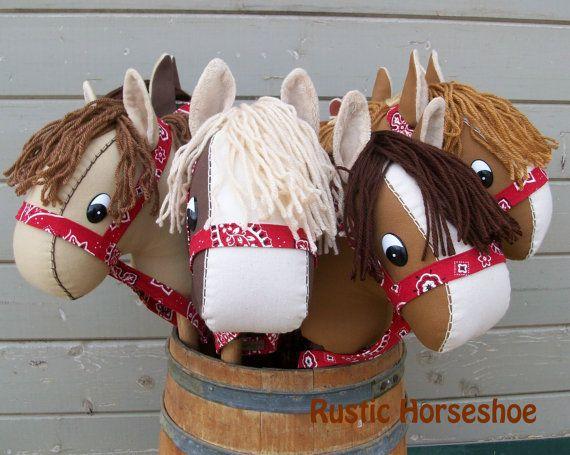 Orginal Basic Stick Horse and Pony Pattern and by RusticHorseShoe