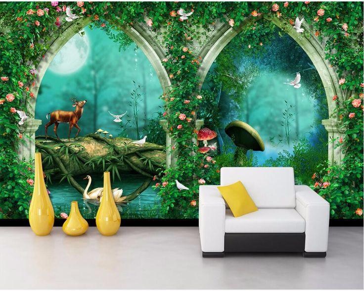 25 beste idee n over muren schilderen op pinterest bekledingranden schilderen verf plinten - Wallpapers voor kamer ...