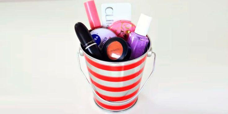 Maneras creativas de regalar maquillaje