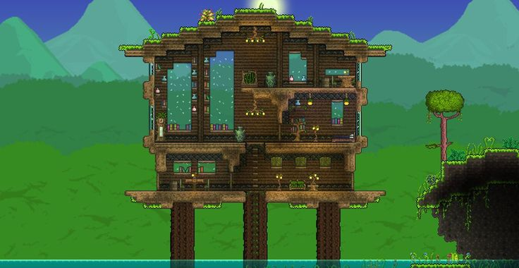 Terraria Jungle House by XploSlime7