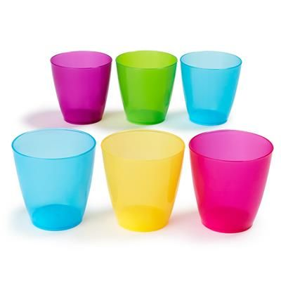 Outdoor Tumblers - Pack of 6 from Kmart $2