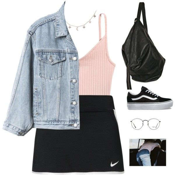 issues. by greciapaola on Polyvore featuring moda, H&M, Gap, NIKE, Vans, Rick Owens, Luna Skye and Ray-Ban