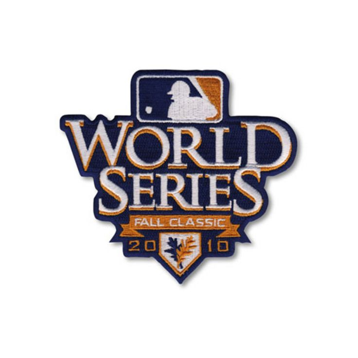 MLB Logo Patch - 2010 World Series Patch