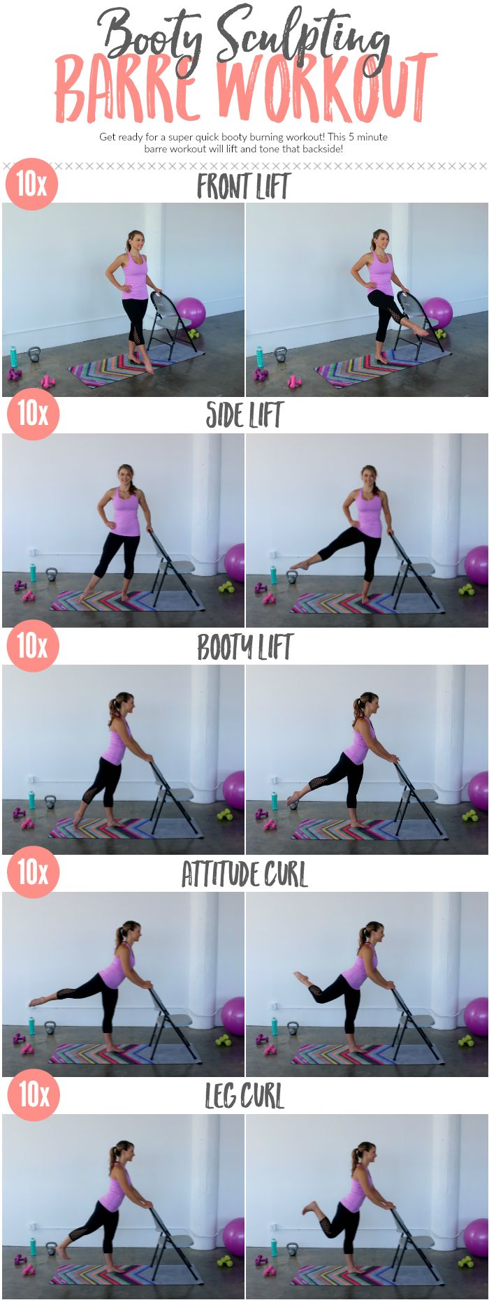 Happy Monday! Week 4's workout for the #BeachBumChallenge is working just that — your beautiful beach BUM! There were numerous requests in the LFG Community for barre workouts, so I put together a super quick, booty burning barre workout that you can do when you're in a hurry or that you can combine with other workouts! You can …