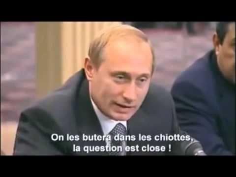Les chiottes by Vladimir Poutine sur les terroristes!
