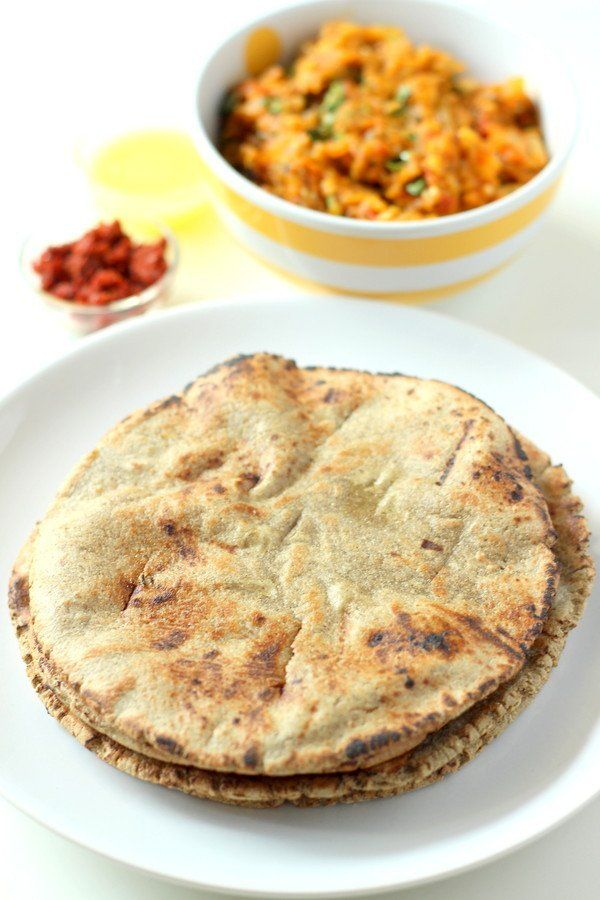 Bajra Rotla Recipe - Flatbread made with Bajra (black millet) flour