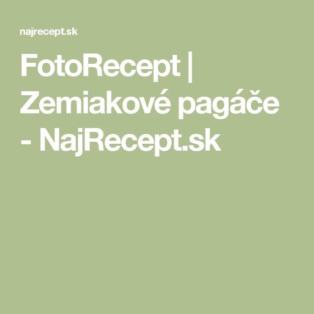 FotoRecept | Zemiakové pagáče - NajRecept.sk