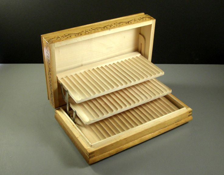 Pyrograph Cigarette Tobacco Display Box // High by Successionary