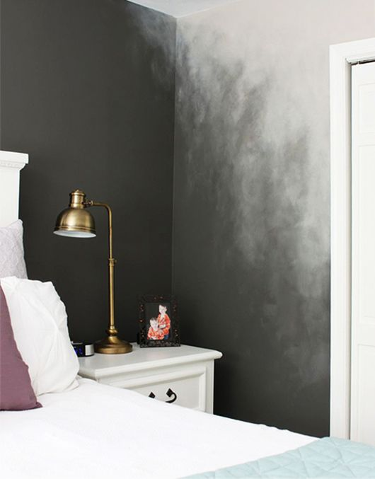 bildergebnis f r ombre wand grau wandgestaltung. Black Bedroom Furniture Sets. Home Design Ideas