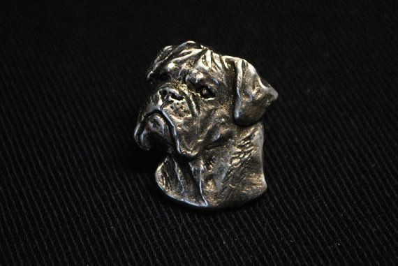 Bullmastiff dog pin limited edition ArtDog by ArtDogshopcenter