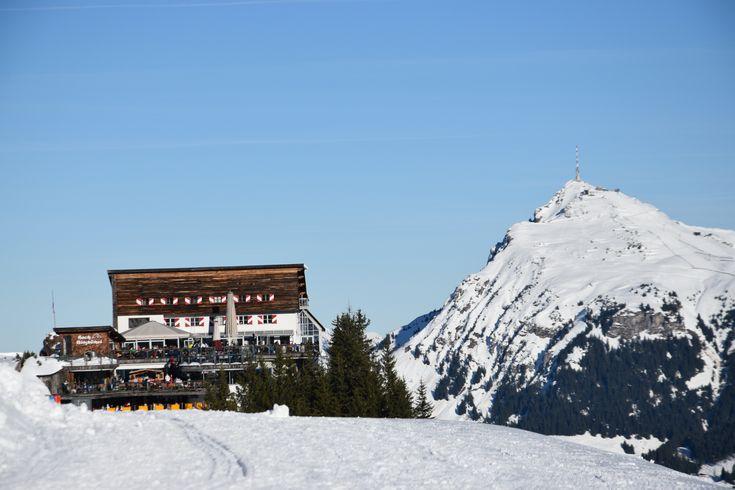 Skifahren am #Hahnenkamm - Genuss pur bei dem Wetter #kitzbuehel #kitzbühel #kitzski