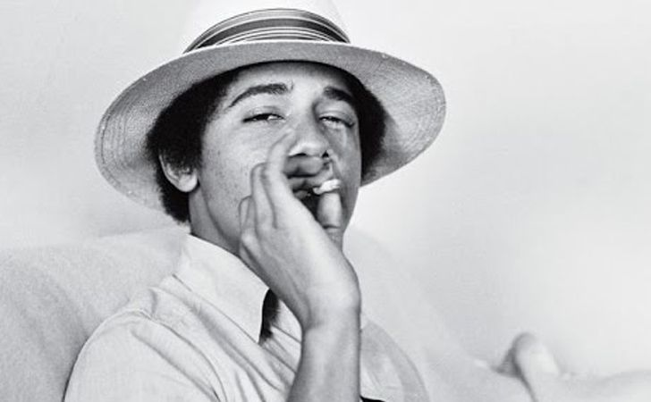 """Barack Obama Smoking Pot If you didn't believe us before, here's the official proof!In 2006, the President was asked if he'd ever used marijuana. """"I inhaled frequently,"""" Obama conceded, """"that was the point."""" Hiiiit iiit!"""